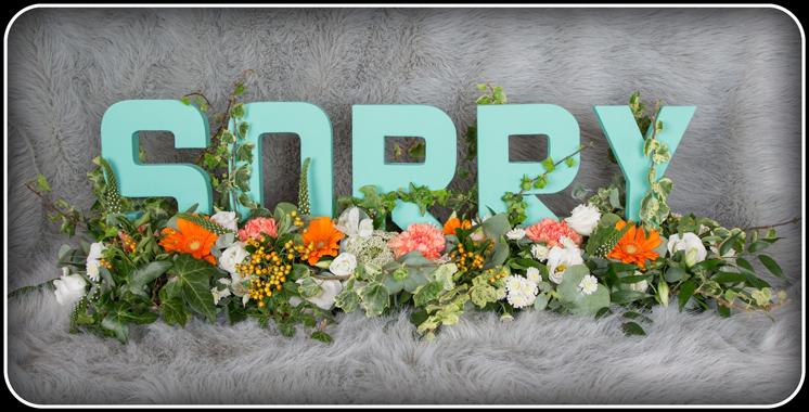 sorry flowers wolverhampton